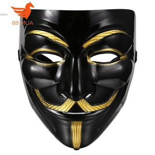 V For Vendetta Guy Fawkes Mặt Nạ Anonymous Mặt Nạ Halloween Cosplay Fancy Ăn Mặc Trang Phục gia ngon