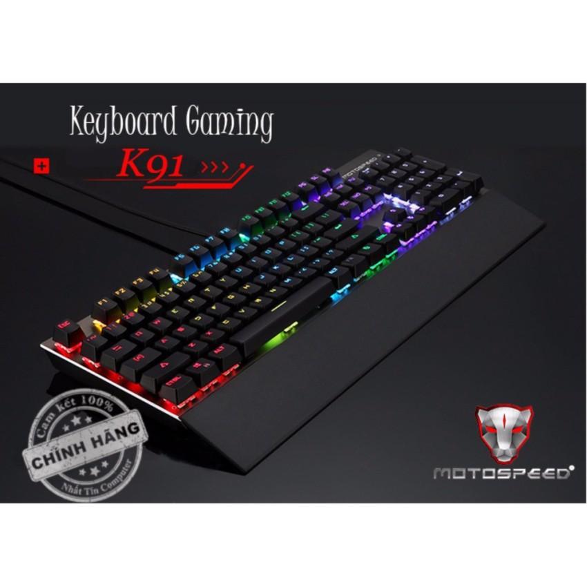 Bàn phím giả cơ chuyên game Motospeed K91 Rainbow Led 7 màu (đen) Hãng phân phối chính thức - 2575719 , 667012617 , 322_667012617 , 575000 , Ban-phim-gia-co-chuyen-game-Motospeed-K91-Rainbow-Led-7-mau-den-Hang-phan-phoi-chinh-thuc-322_667012617 , shopee.vn , Bàn phím giả cơ chuyên game Motospeed K91 Rainbow Led 7 màu (đen) Hãng phân phối chín