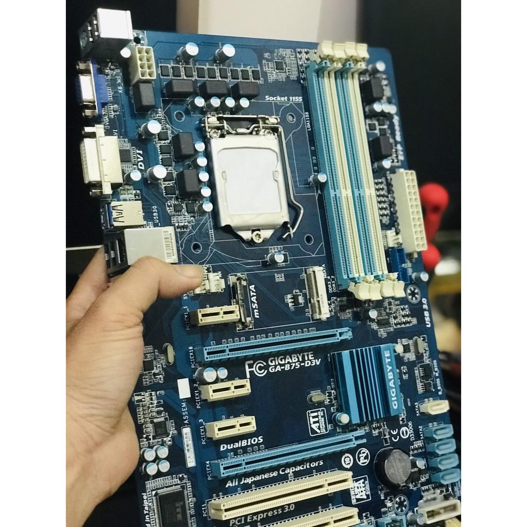 Bo mạch chủ Mainboard Gigabyte GA-B75-D3V chuyên game Giá chỉ 990.000₫