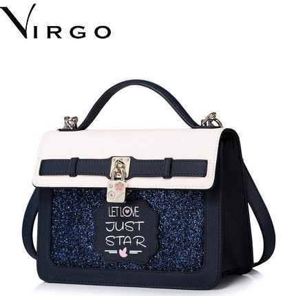 Túi xách nữ da kim tuyến Virgo VG147