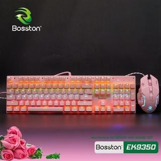 Combo Phím Chuột BOSSTON EK9350 Chính Hãng