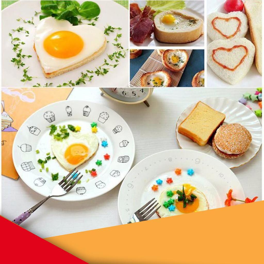 [GIÁ SỈ]  Khuôn tạo hình tráng trứng, làm bánh dán