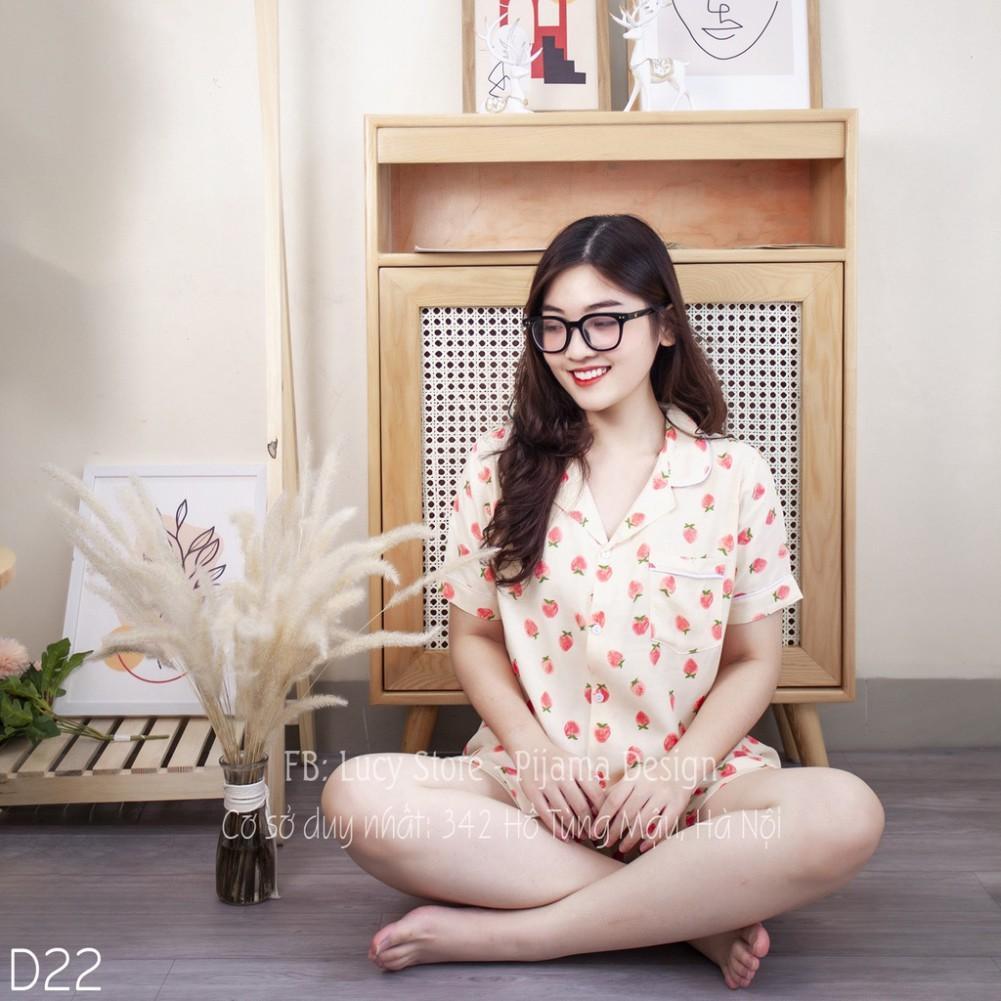 Mặc gì đẹp: Gọn tiện với Đồ Bộ Mặc Nhà Nữ - Đồ Ngủ Pijama Nữ Lụa Đũi Nhập Hàng Thiết Kế Cao Cấp Chất Vải Mềm Mướt Siêu Thoáng Mát Mặc Ở Nhà