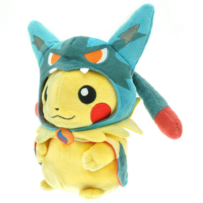 Gấu Bông Pokemon Cosplay-8 Figure 25cm