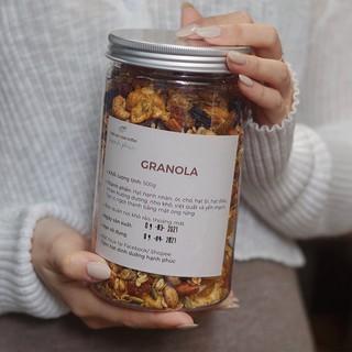 500g Granola – Mix các loại hạt dinh dưỡng và hoa quả