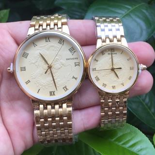 Đồng hồ cặp Baishuns mặt rồng nổi thumbnail