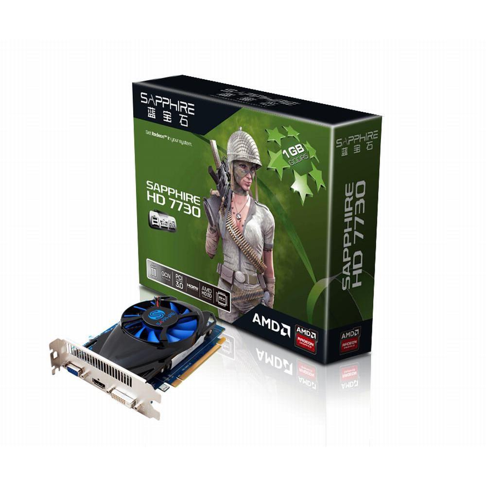 Card màn hình Sapphire Radeon HD 7730 GDDR5 (11211-06)