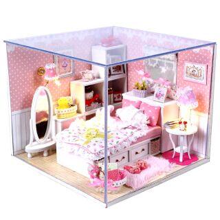 Mô hình nhà gỗ búp bê Dollhouse DIY – M001 Angel's dream