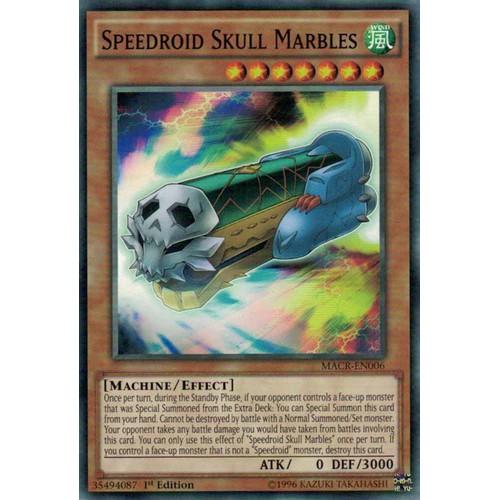 Bài yughioh chính hãng_Speedroid Skull Marbles