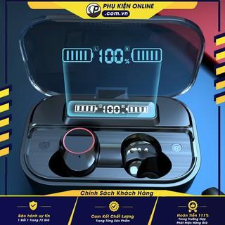 Tai nghe không dây Bluetooth kiêm Pin sạc dự phòng 2000mAh  G05 TWS - Kết nối nhanh - Mic đàm thoại siêu nhạy