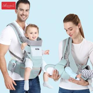 Địu em bé sơ sinh thoáng khí 6 tư thế – Điệu trẻ em đa chức năng
