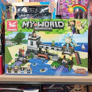 Đồ Chơi Trẻ Em Lắp ghép my world 371 mảnh KB2165 [ĐỒ CHƠI TRÍ TUỆ]