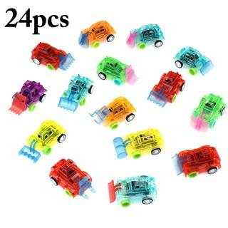 24PCS Pullback Car Set Educational Toy Mini Car Gift for Kids Boys Girls