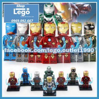 Xếp hình Lego Iron Man tuyển tập 2019 giá rẻ Lego MiniFigures Xinh X0255 thumbnail