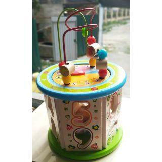 Bộ đồ chơi gỗ đa chức năng cho bé 1 tuổi trở lên