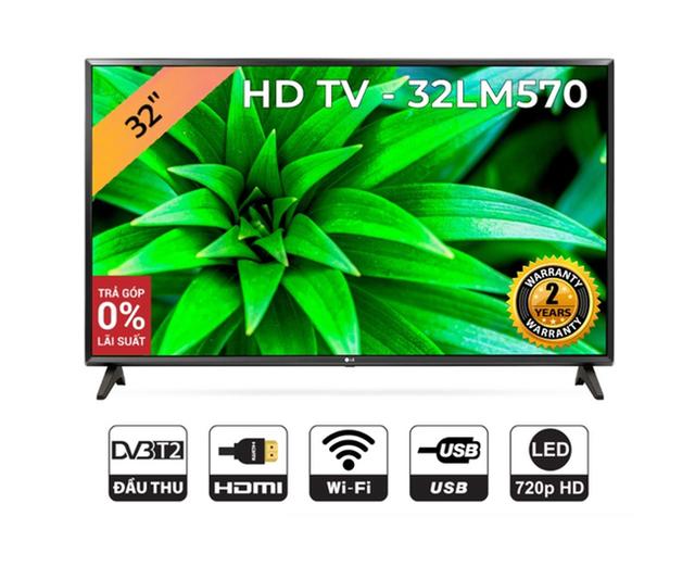 Smart Tivi LG 32 inch HD 32LM570BPTC - Model 2019