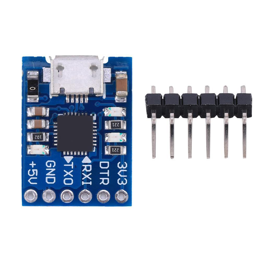 Mô đun bảng mạch 6pin chuyển đổi từ CP2102 USB sang UART TTL kích thước 20mm*16mm*4mm - 13823285 , 2207524624 , 322_2207524624 , 44000 , Mo-dun-bang-mach-6pin-chuyen-doi-tu-CP2102-USB-sang-UART-TTL-kich-thuoc-20mm16mm4mm-322_2207524624 , shopee.vn , Mô đun bảng mạch 6pin chuyển đổi từ CP2102 USB sang UART TTL kích thước 20mm*16mm*4mm