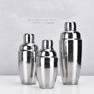 [Sỉ] Bình shaker inox - bình lắc inox - bình shake inox pha chế cocktail trà sữa đủ các cỡ 350ml-550ml-750ml đẹp