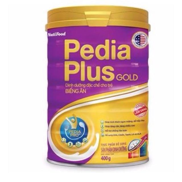Pedia plus Gold cho trẻ biếng ăn chậm lớn 900g