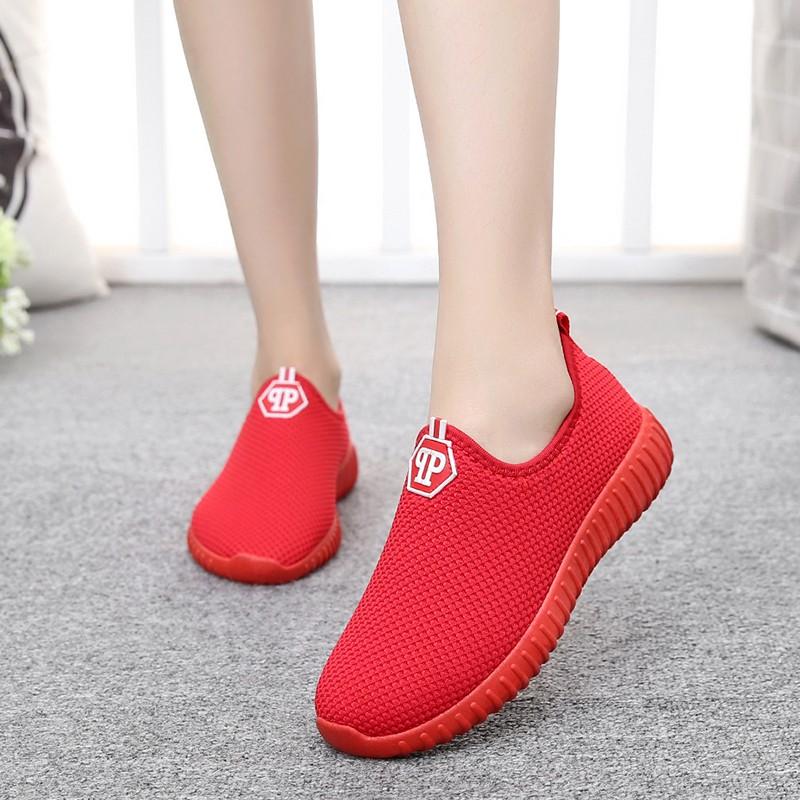 Giày thể thao nữ - MS7- màu đỏ qp 1380