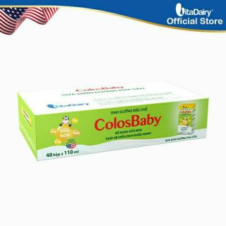 Sữa bột pha sẵn Colosbaby 110ml