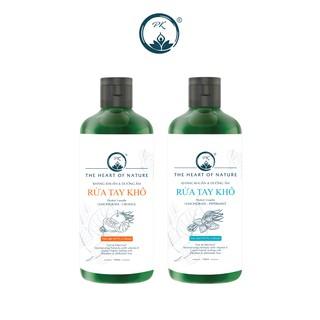Combo 2 nước rửa tay khô PK cam ngọt, bạc hà sát khuẩn 100% - (100ml chai) thumbnail