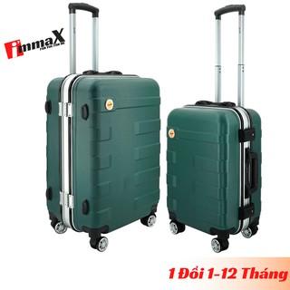 Bộ 2 vali nhựa khung nhôm nắp gập immaX A16 size 20inch + 24inch bảo hành 2 năm, 1 đổi 1 trong 12 tháng thumbnail