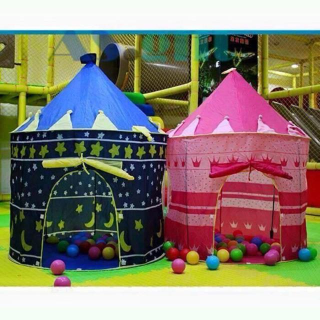 [FLASH-SALE] Bộ lều lâu đài kèm 100 bóng nhựa