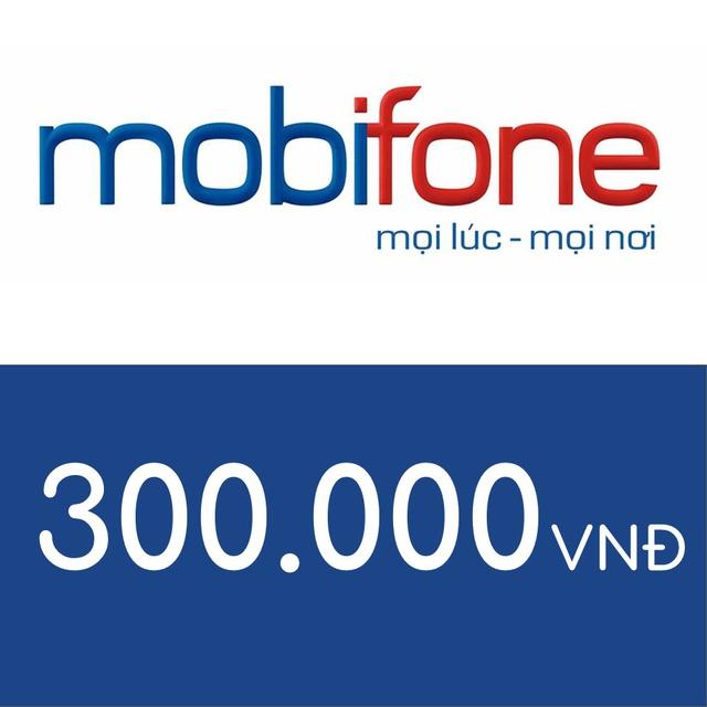 Nạp điện thoại Mobifone 300K