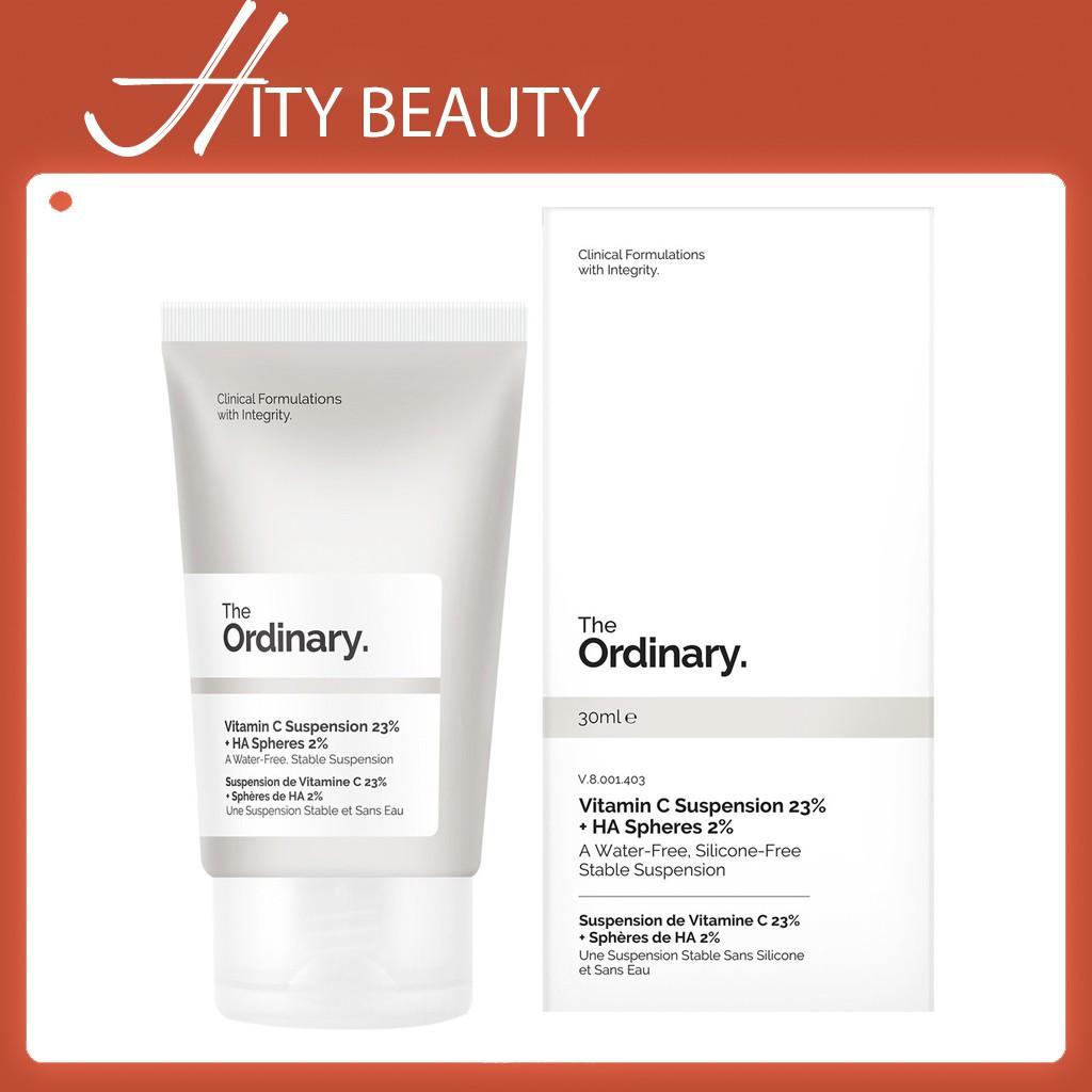 [23%-30%] Kem dưỡng sáng da Vitamin C Suspension 23% + HA Spheres 2% / 30% in Silicone- The Ordinary - Hity Beauty