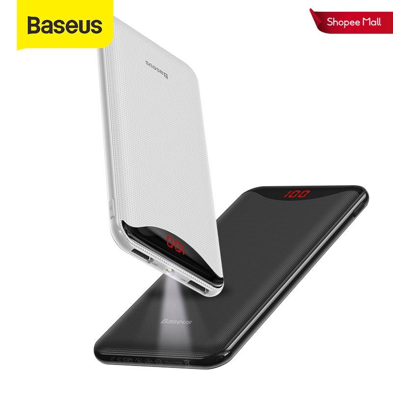 Pin dự phòng Baseus có đèn pin cho iPhone 11 Pro 10000mAh