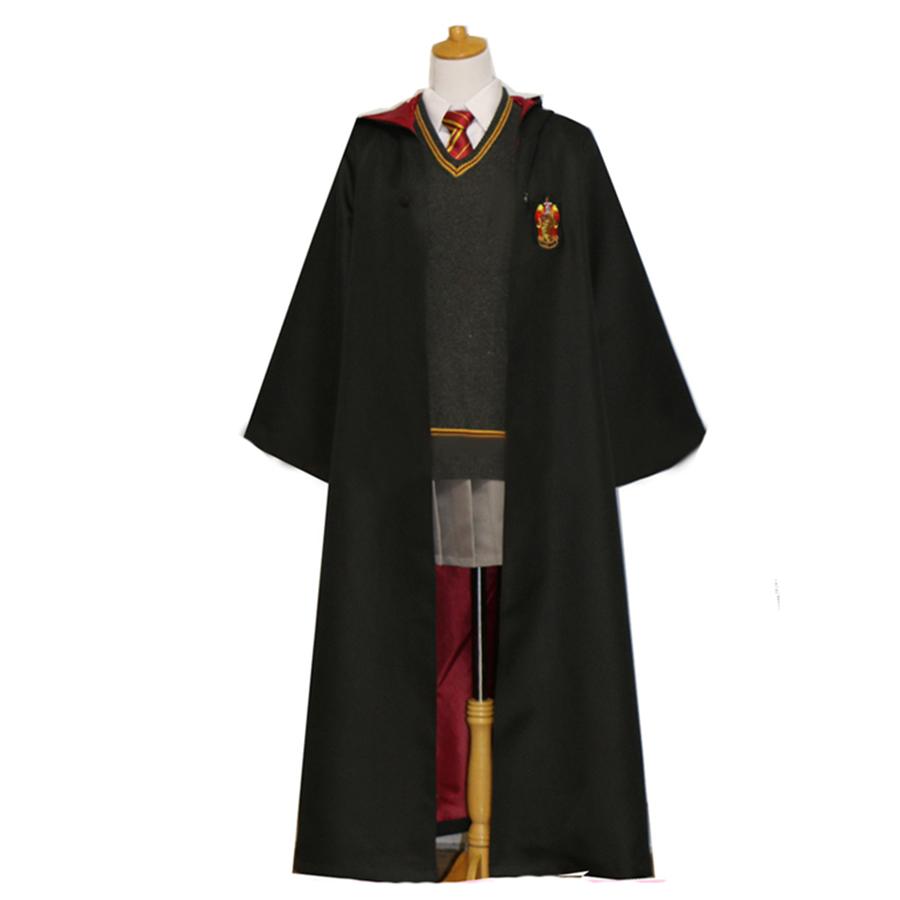 Áo choàng Harry Potter nhà Gryffindor Nam/nữ – Trang phục Phù thuỷ hoá trang Harry Potter – Chuẩn hàng ALWAYS Store