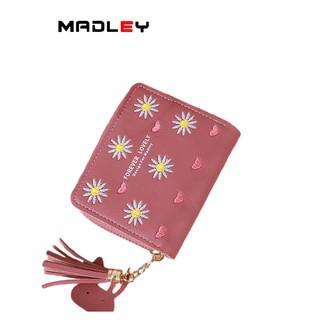 Ví nữ nhỏ gọn bỏ túi mini MADLEY cao cấp cầm tay đựng tiền cute VD420 thumbnail