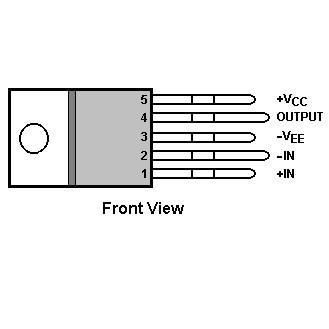 IC Audio LM1875