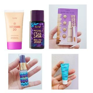 [Minisize] Tarte 5 món - Kem Lót - Kem chống nắng có dưỡng - Gel rửa mặt - Xịt khóa ẩm - Che khuyết điểm thumbnail