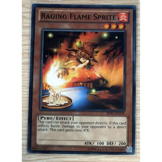 [Thẻ Yugioh] Raging Flame Sprite