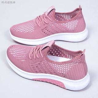 Giày thể thao phối lưới thoáng khí thời trang năng động cho nữ