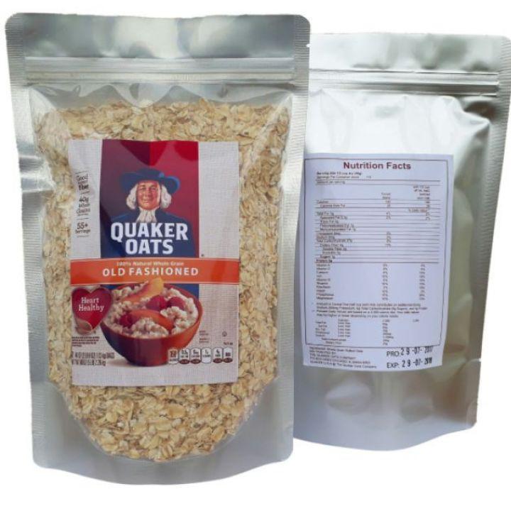Combo 3 kg yến mạch Quaker Oats cán mỏng Combo 3 kg yến mạch Quaker Oats cán mỏng
