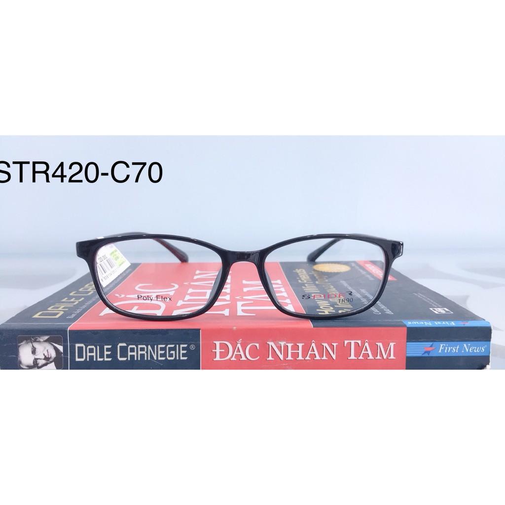 Giá bán Gọng Kính Cận Nhựa Dẻo Str420-C70