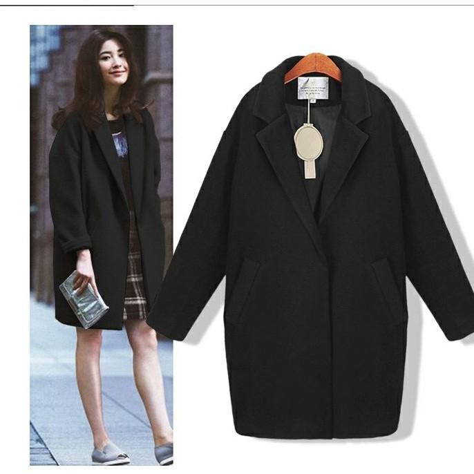 Áo khoác dạ MỎNG một lớp nữ trẻ trung, chất đẹp