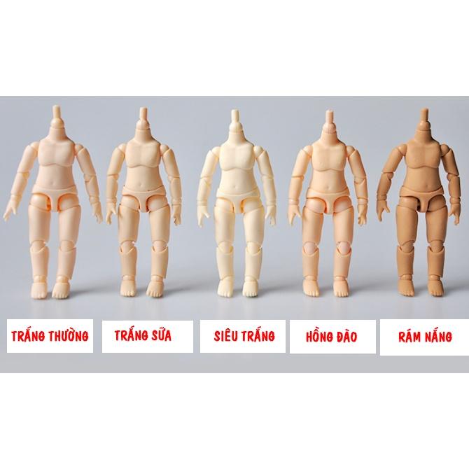 Cơ thể YMY 9,5cm có thể gắn đầu Nendoroid