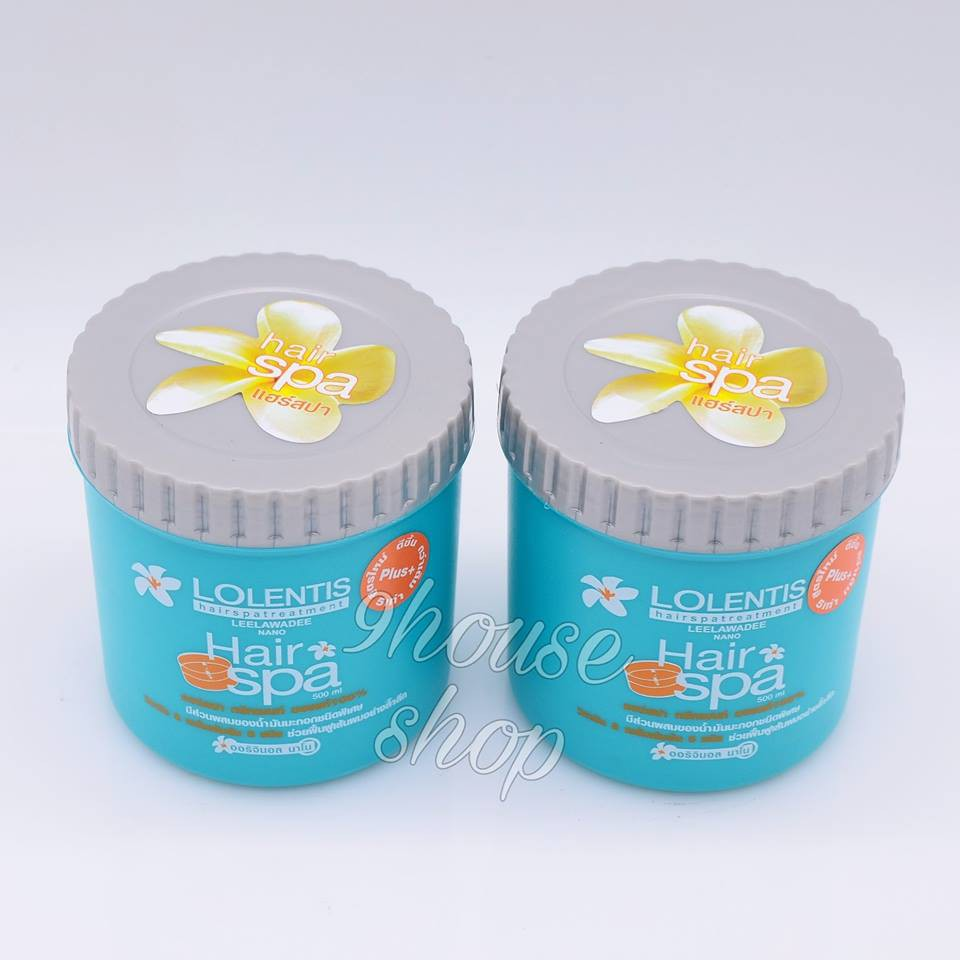 01 Hủ Kem Ủ Tóc Lolentis Hair Spa Thái Lan 500ml
