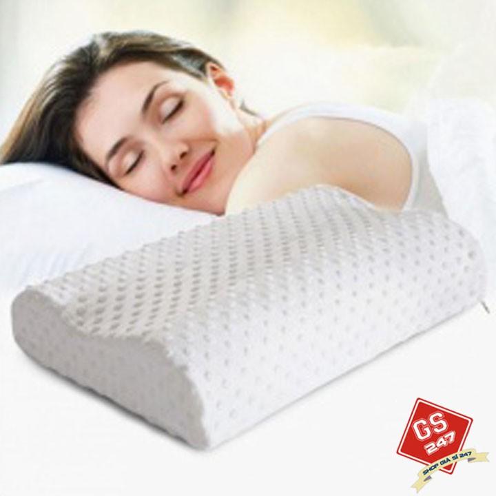 Gối cao su non Verygood hàng Việt Nam xuất khẩu 50 x 30 cm
