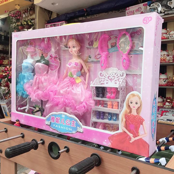 Đồ Chơi Bộ Công chúa hồng kèm váy DB2143 [SHIP TOÀN QUỐC]