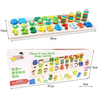 Bàn học toán cho trẻ – đồ chơi giáo dục phương pháp montesstori