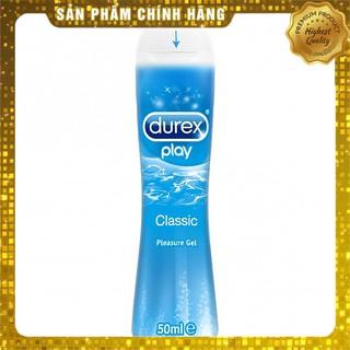 Gel bôi trơn tạo độ ẩm tự nhiên Durex Play Classic 50ml – Chính hãng