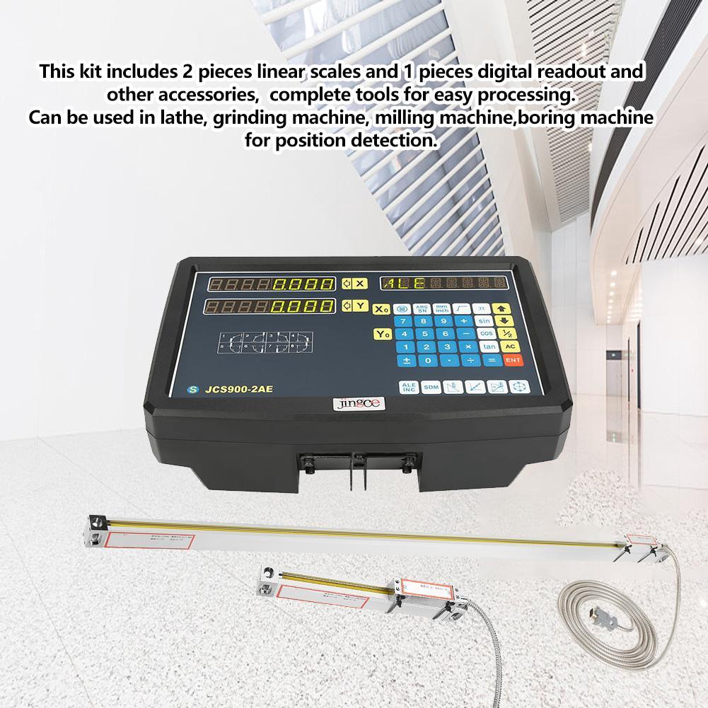 Bộ mã hóa tuyến tính quy mô JCS900-2AE 500ml 110-240V độ chính xá