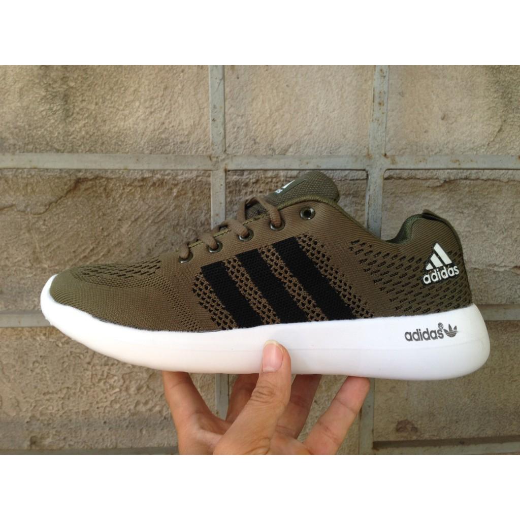 [FREE SHIP + KÈM HỘP] Giày Adidas Zoom màu xanh rêu