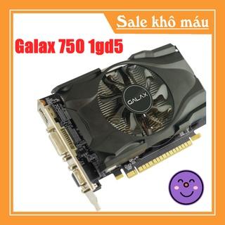 VGA - Card màn mình Galax Sniper GTX 750 1gd5 Black- Hàng chính hãng thumbnail