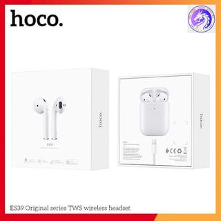 Tai Nghe Bluetooth V5.0 Cảm Ứng Hai Bên Hoco ES39 & Lanex LEP-W12 Có Mic Dock Sạc Không Dây - BH 12 Tháng